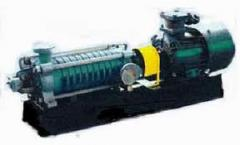 The pump centrifugal section TsNS 60-66 on a plate