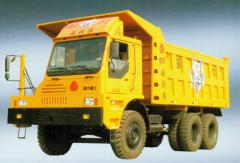 Dump trucks, Big loading capacity and speed