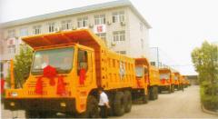 Cars cargo dump trucks