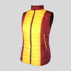 Vest the warmed quilted women's