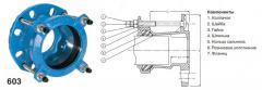 Переходник AVK фланец-раструбный типа supa - для PN 16 603