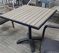 Металлический стол ТК-024  с пластиковой
