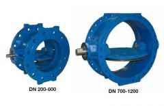 Затвор AVK дисковый поворотный, PN10 или PN 16 756/A