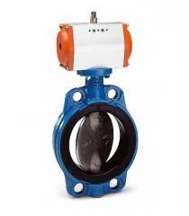 Пневматический привод для дисковых поворотных затворов AVK 75
