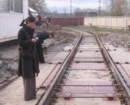 Railway scales