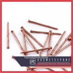 Copper nails of 4х80 Sq.m of GOST 6750-75