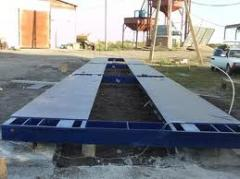 Automatic scales for the coal industry