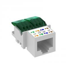 Телекоммуникационный модуль RJ45, CAT. 5e,