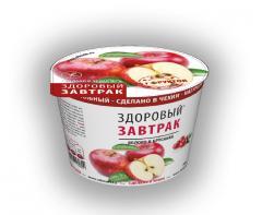Сухой завтрак Яблоко и брусника NATURAL
