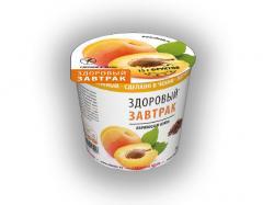 Безглютеновый сухой завтрак Абрикосы и изюм NATURAL