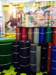 Рулонное напольное резиновое покрытие 3,5-4мм