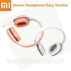 Наушники Xiaomi Mi Headphones EASY, оранжевые
