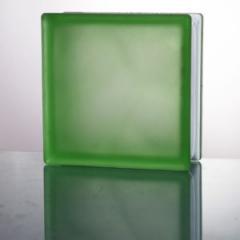 Стеклоблок JH 074 Misty In-colored green(зеленый матовый)