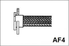 Фитинги к металлическим шлангам