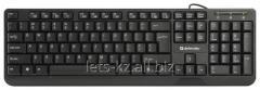 Клавиатура Defender  OfficeMate MM-810 RU черный (Art:904372284)