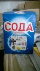 Сода кальцинированная 600гр Россия