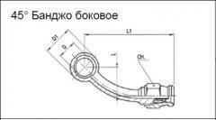 Фитинг 45° Банджо боковое RK-O-A45RLN