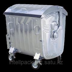 1100 liters zinced Evrokonteyner for MSW