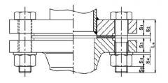 Болты и гайки для фланцевых соединений