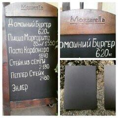 Доска для кафе ресторана в Алматы, арт. 14066689