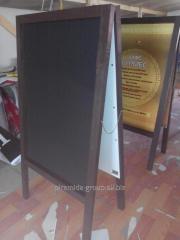 Меловой штендер доска для кафе ресторана в Алматы, арт. 11654074