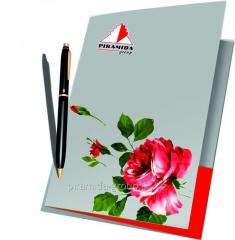 Папки бумажные с фирменным логотипом в Алматы, арт. 42422587