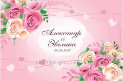 Пресс стена на свадьбу в Алматы,  арт....