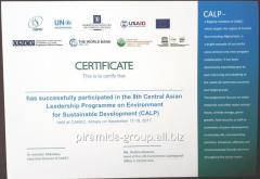 Сертификат, арт. 46021467