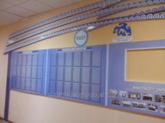 Стенды информация оформление в Алматы,  арт....