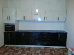 Кухонный гарнитур, цвет бежевый