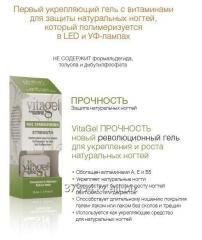 The vitaminized VitaGel STRENGTH gel Durability.