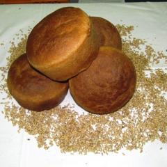 Хлеб Ржаной, формовой, 0,55 кг