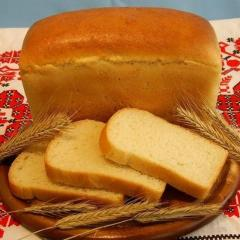 Хлеб пшеничный, формовой 1с, 0,4 кг
