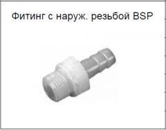 Фитинг с наруж. резьбой BSP
