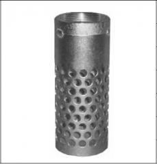 Цилиндрический фильтр выский с круглыми отверстиями, с резьбой NPT