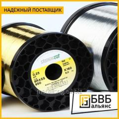 Thermoelectrode wire of 0, 20-0, 29 PR-10...