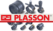Fitting from Plasson polyethylene
