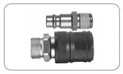 Соединения RECTUS - разъединение без давления серия 26KE DN 7,4