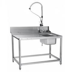 Стол предмоечный СПМП-7-4 с душем