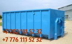 Бункер накопитель для ТБО 30м3, бункер мусорный