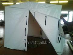 Tent of the welder