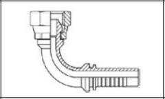 Фитинг Резьба BSP, конус 60° DKR 90