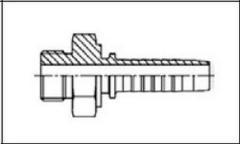 Резьба BSP, плоское уплотнение AGR-F