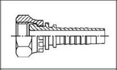Резьба BSP, плоское уплотнение DKR-F