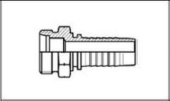 Резьба метрическая, конус 24°, o-ринг, серия тяжелая (S) CES
