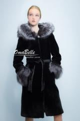 Fur coat from a muton from Omabelle.kz