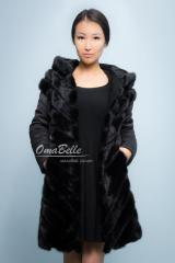 Mink jacket with a gift from Omabelle.kz