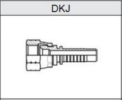 Фитинг JIC Резьба UNF, конус 74° DKJ