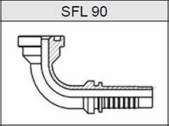Фланец SAE 3000 SFL 90