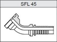 Фланец SAE 3000 SFL 45